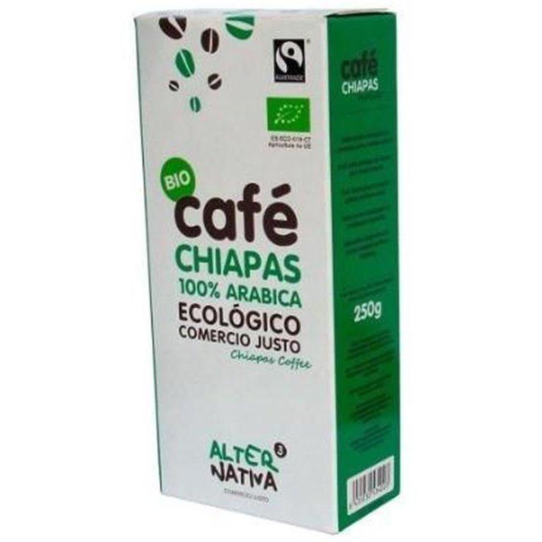 Café Chiapas Molido Bio Fairtrade 250g, 1 ud