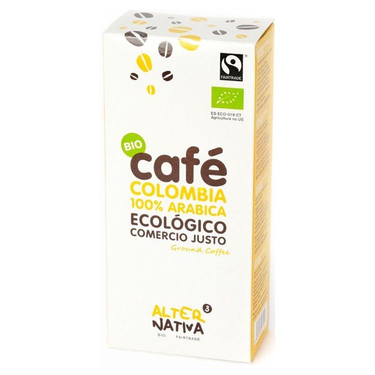 Café Colombia 100% Arábica Molido Bio Fairtrade 250g