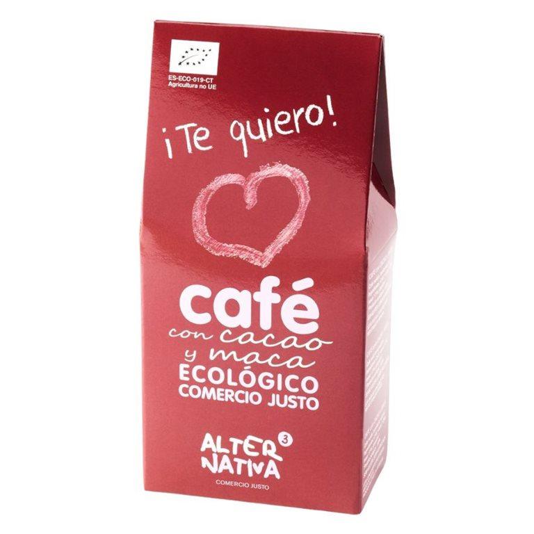 Café con Cacao y Maca Molido Bio Faitrade 125g