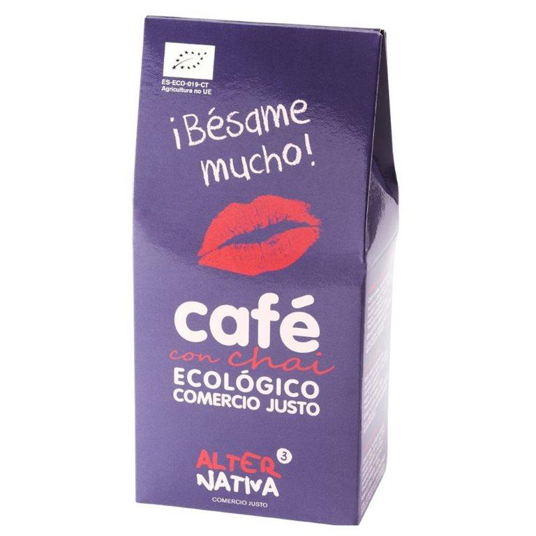 Café con Chai Molido Bio Fairtrade 125g