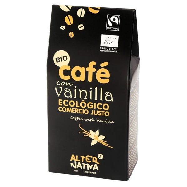 Café con Vainilla Molido Bio 125g