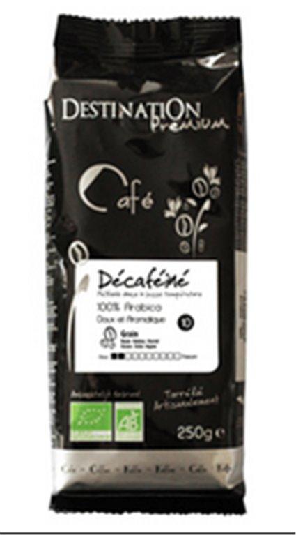 Café descafeinado arábica, 250 gr