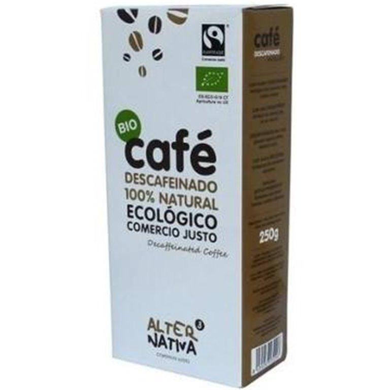 Café Descafeinado Molido Bio Comercio Justo 250g