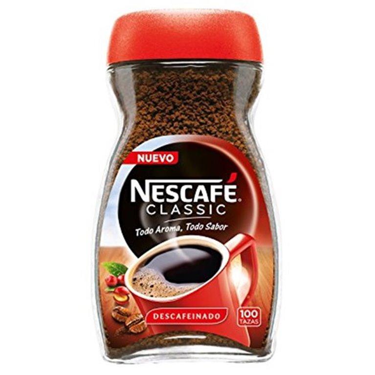 Café Descafeinado Nescafé 100 tazas, 1 ud