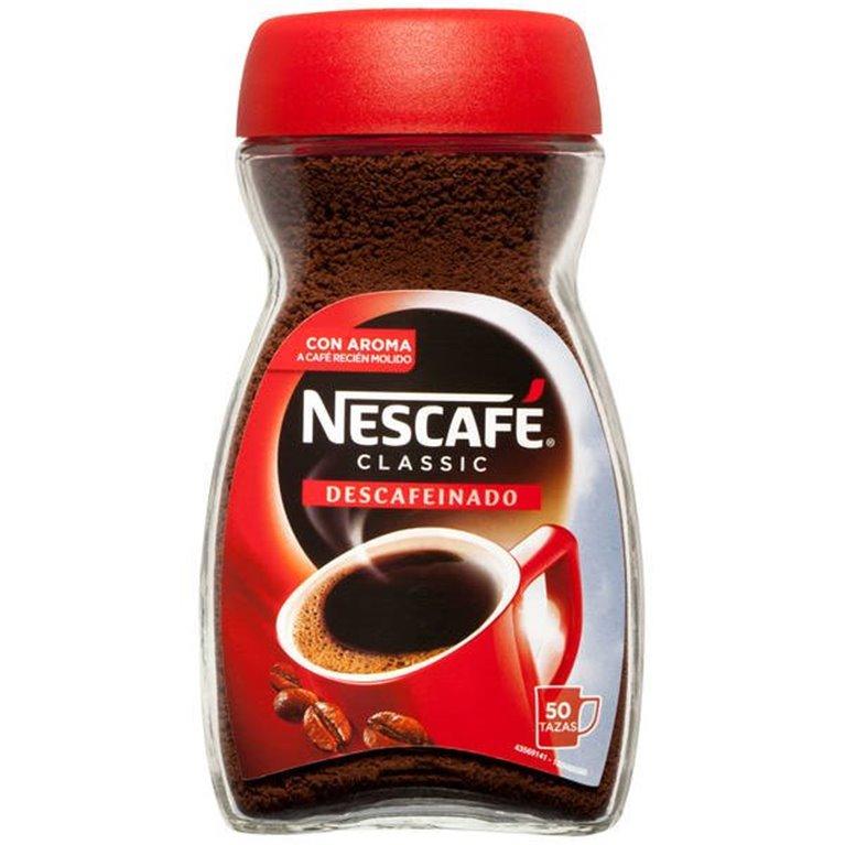 Café Descafeinado Nescafé 50 tazas, 1 ud