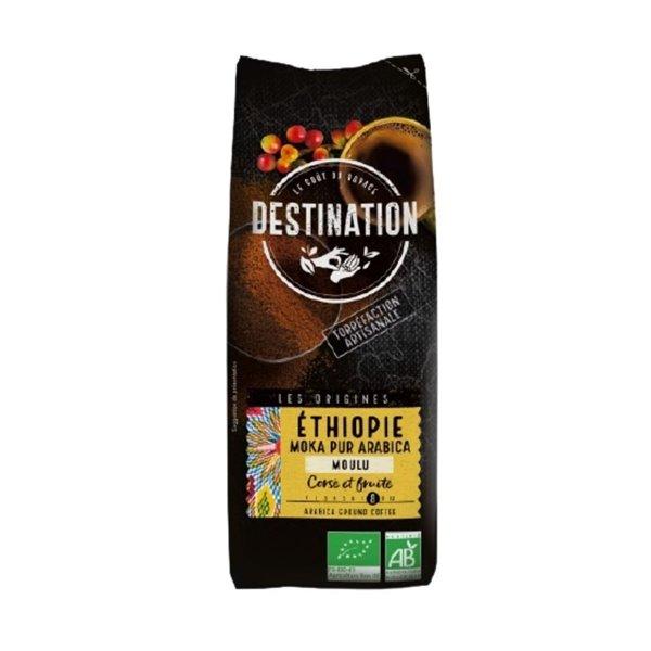 Café Etiopía Moka 100% Arábica Molido Bio 250g
