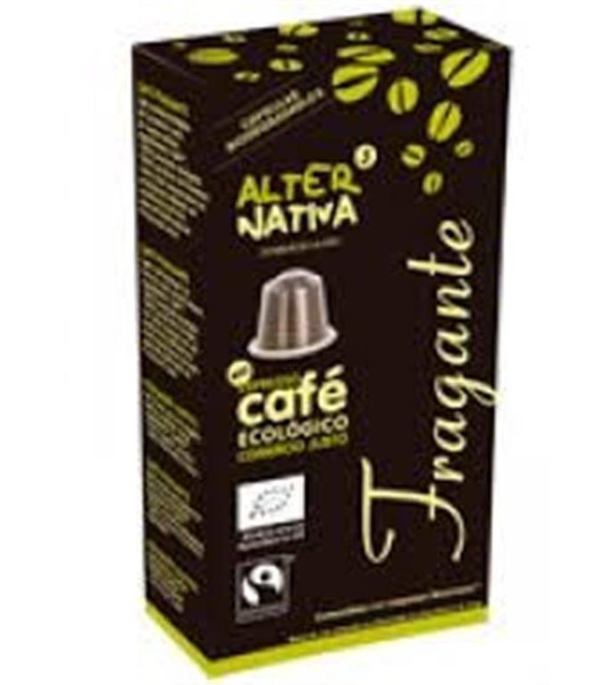 Café Fragante en Cápsulas Bio Fairtrade 10 Uds.