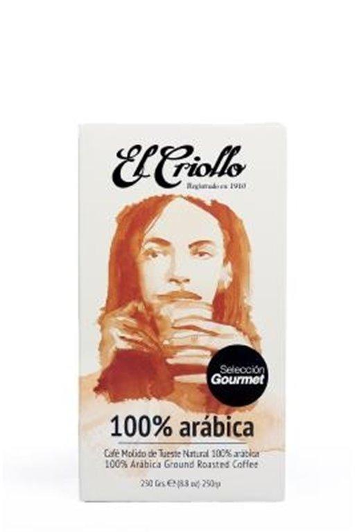 Café gourmet 100% Arábica El Criollo 250gr