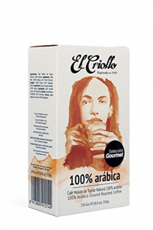 Café gourmet 100% Arábica El Criollo 250gr, 1 ud