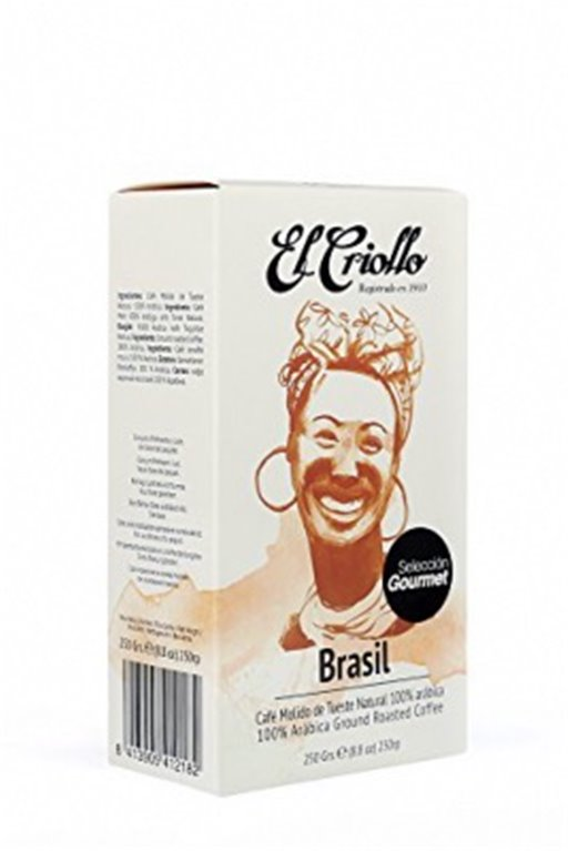 Café gourmet Brasil El Criollo 250gr, 1 ud