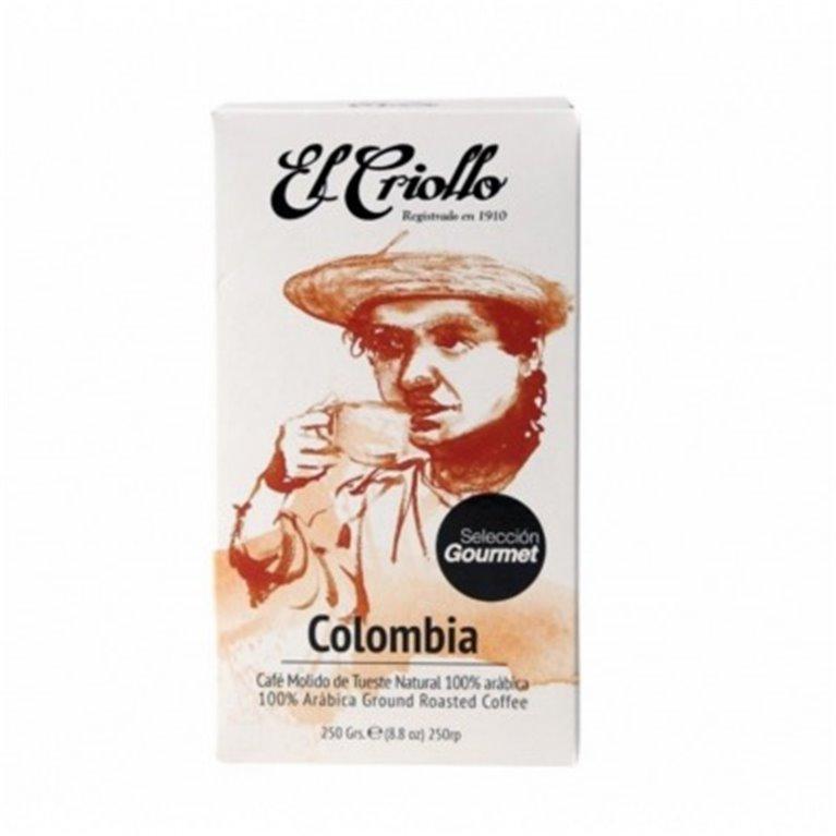 Café gourmet Colombia El Criollo 250gr, 1 ud