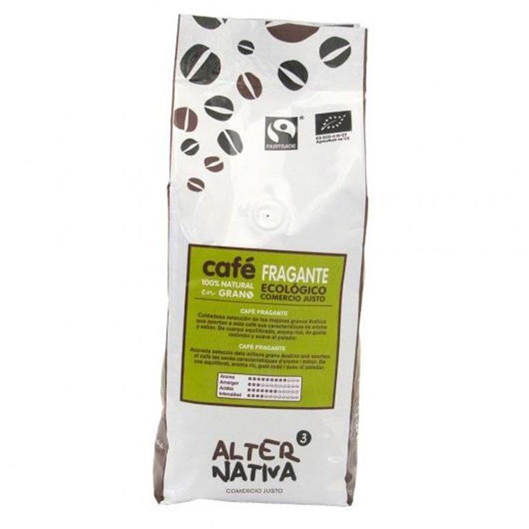 Café Fragante en Grano Bio Fairtrade 500g