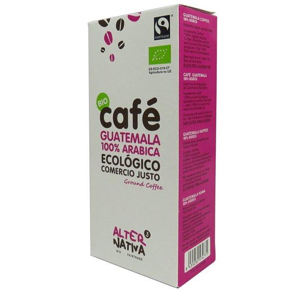Café Guatemala 100% Arábica Molido Bio Fairtrade 250g