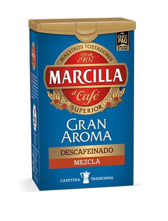 Marcilla - Café mezcla descafeinado, 1 ud