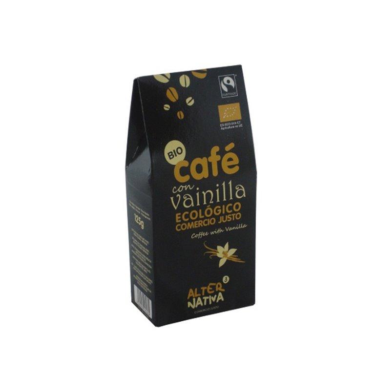 Organic Fairtrade Vanilla Flavored Ground Coffee Alternativa3