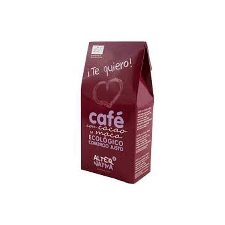 Café Molido con Cacao y Maca ¡Te quiero! bio Alternativa3