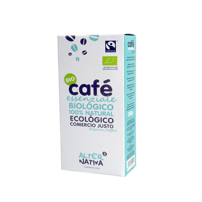 Café Molido Essenziale bio de Comercio Justo Alternativa3