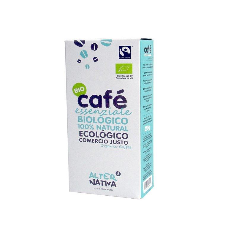 Organic Essenziale Ground Coffee Fair Trade Alternativa3