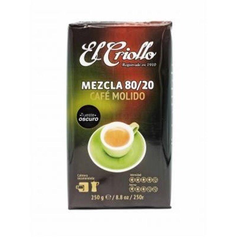 Café molido Mezcla El Criollo 250gr