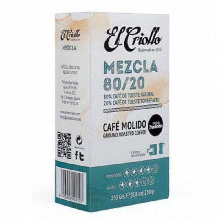 Café molido Mezcla El Criollo 250gr, 1 ud