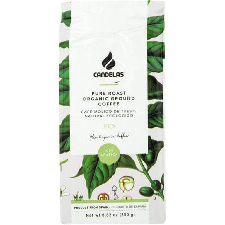 Café molido natural BIO 250 g - Candelas, 300 gr