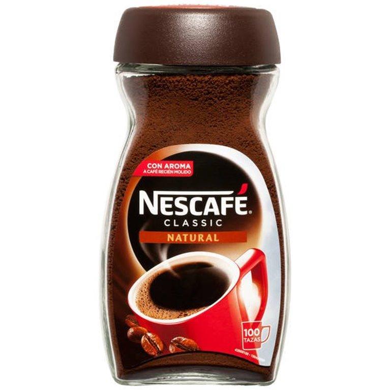 Café Natural Nescafé 100 tazas