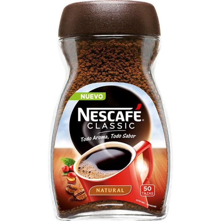 Café Natural Nescafé 50 tazas