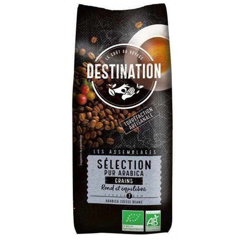 Café Selección Arábica Robusta en Grano Bio 1kg