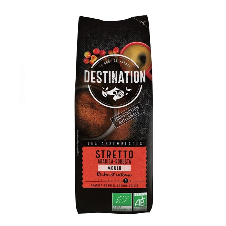 Café Stretto Italiano Molido Bio Fairtrade 250g