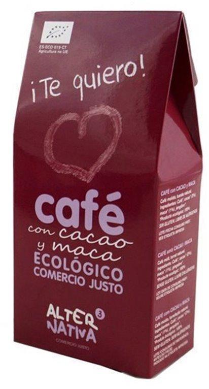 Café Te Quiero Con Cacao Y Maca, 1 ud