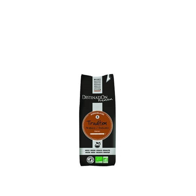 Café tradition Arabica-Robusta, 250 gr