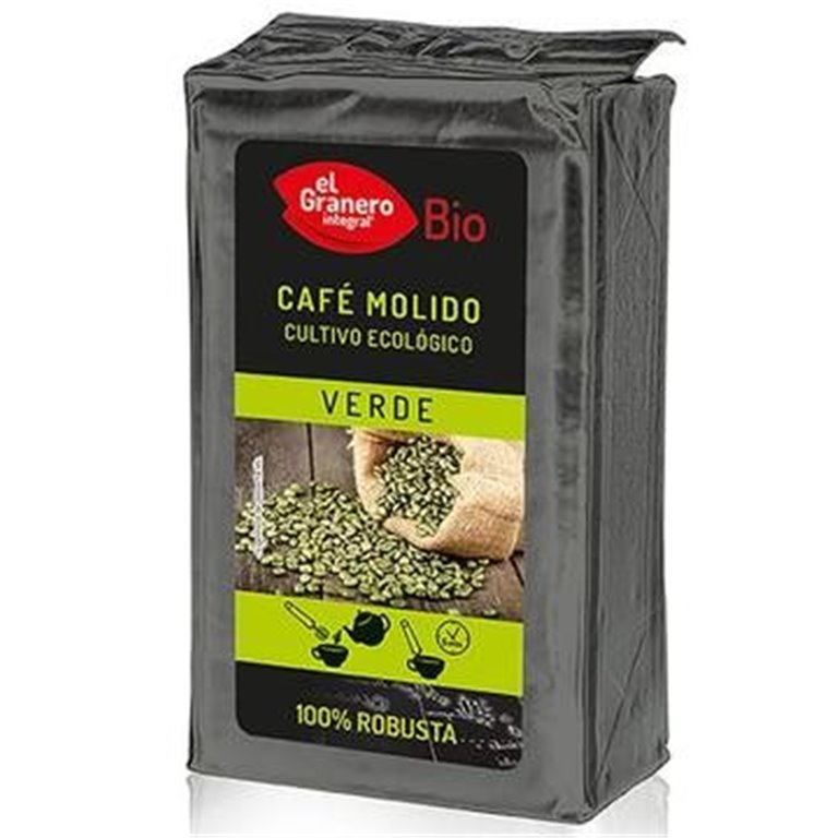 Café Verde 100% Robusta Molido Bio 400g