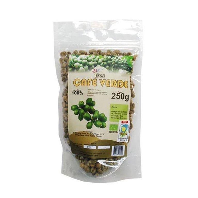 Café verde, 250 gr