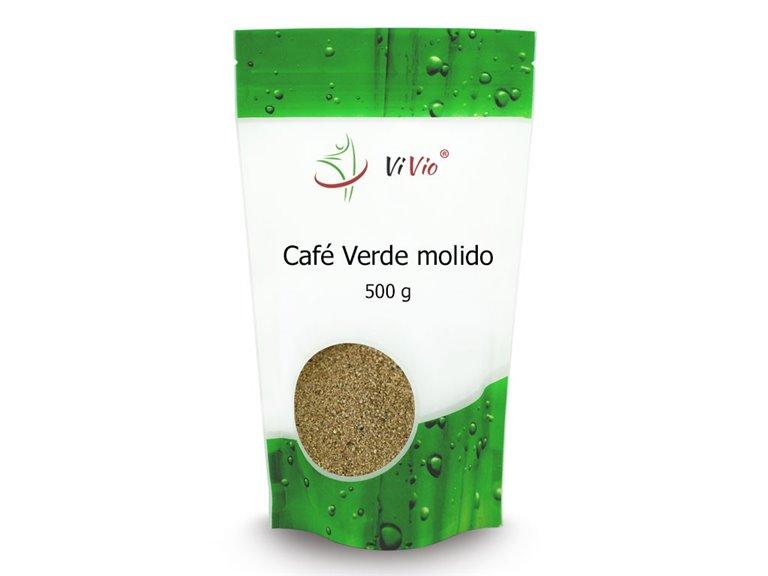 CAFÉ VERDE MOLIDO 500g