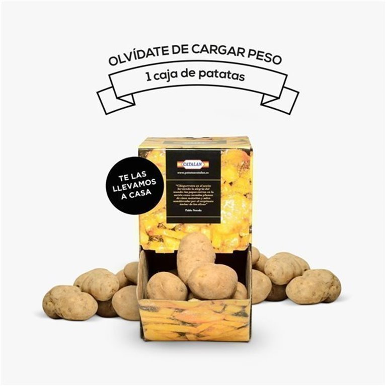 Caja 10 kg de Patatas, 1 ud