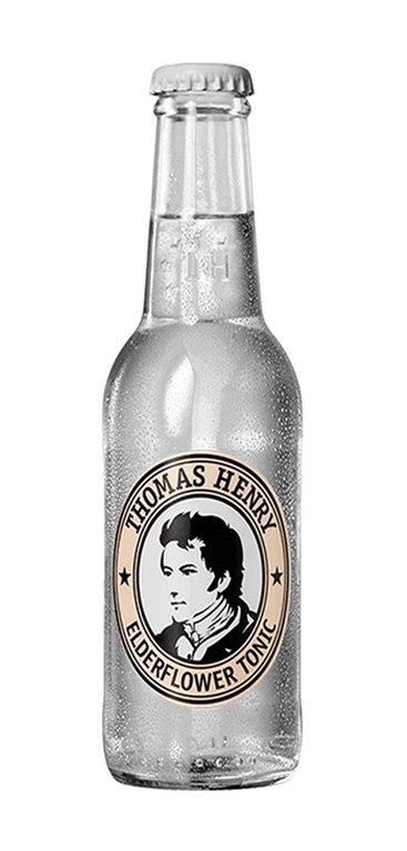 Caja 24 botellines Tonica Elderflower Thomas Henry