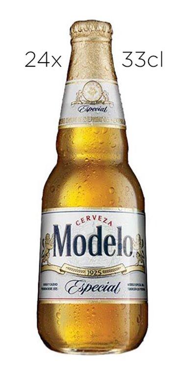 Caja 24 Tercios Cerveza Modelo Especial