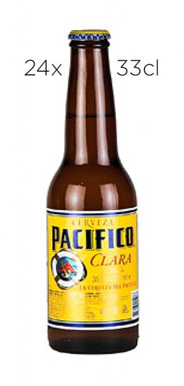 Cerveza Mexicana Pacífico. Caja de 24 Tercios