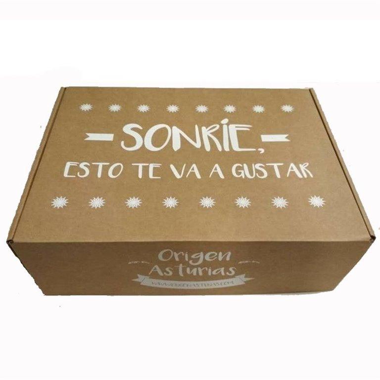 Caja Carton Origen Asturias