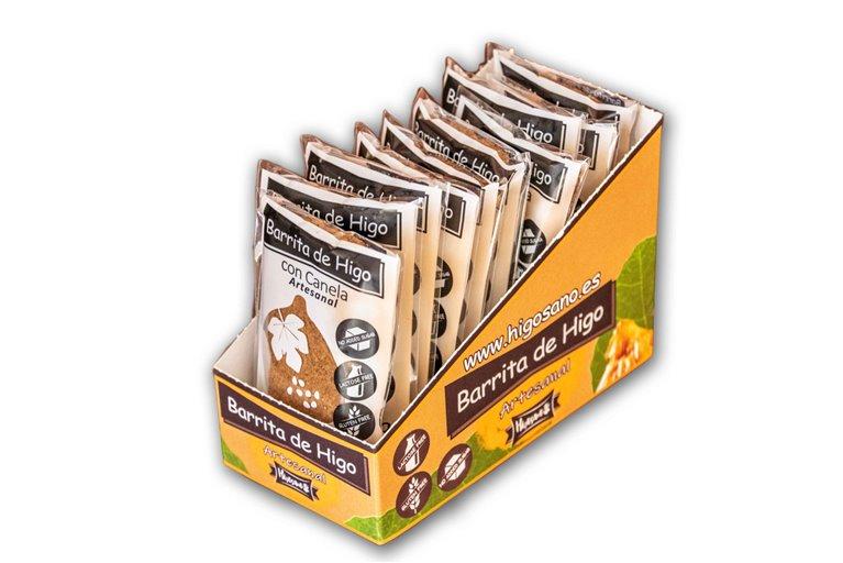 Box of 10 mixed fig bars 50g