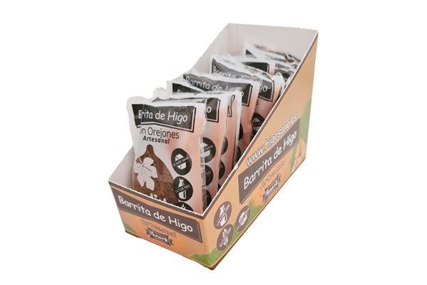 Caja de 10 Barritas de Higo con Orejones de Albaricoque