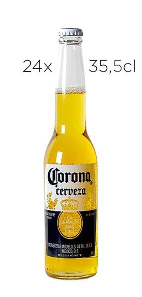 Cerveza Coronita. Caja de 24 botellas de 35cl