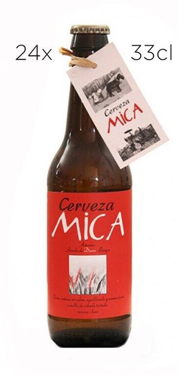 Cerveza Artesana Mica Cuarzo Ale Premium. Caja de 24 tercios.