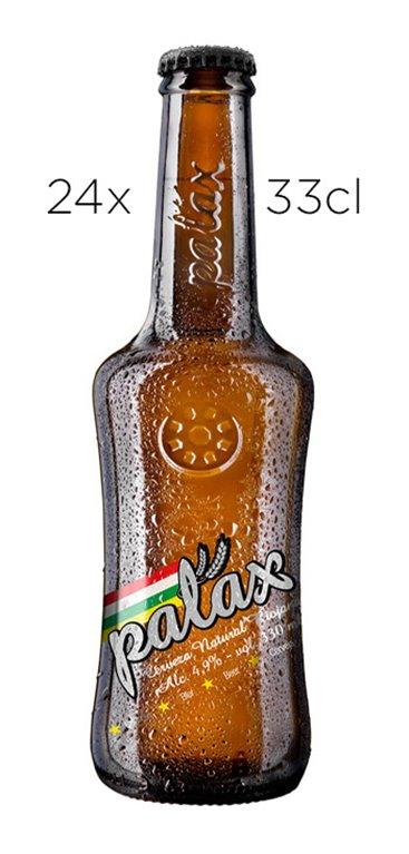 Cerveza Artesana Palax Pilsner. Caja de 24  tercios