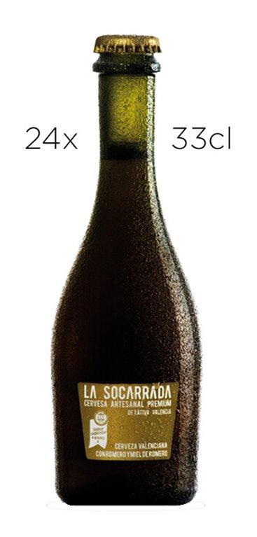 Cerveza Artesana Premium La Socarrada.