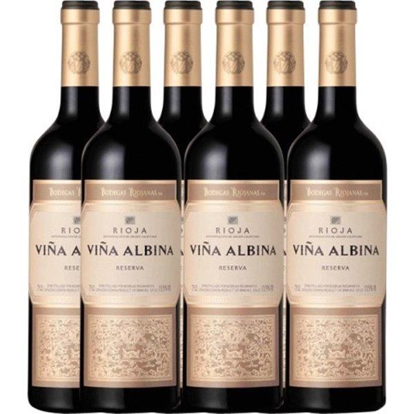 Caja de 6 botellas Viña Albina Reserva 2017
