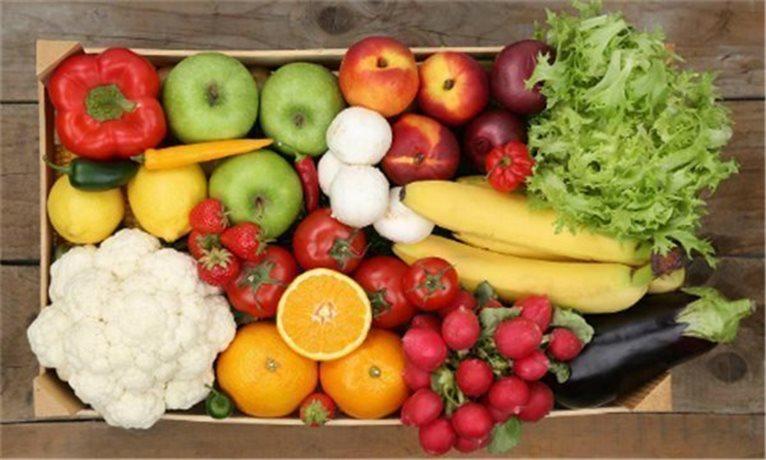 Caja de frutas de temporada - selección de 7 kg