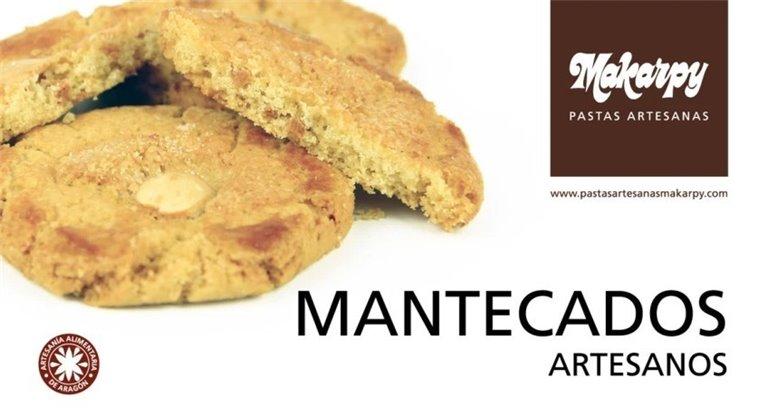 Caja de mantecados artesanos 12 uds Makarpy