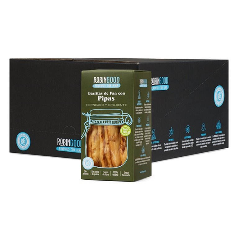 Bread Sticks with Pipes (Box of 12 units)