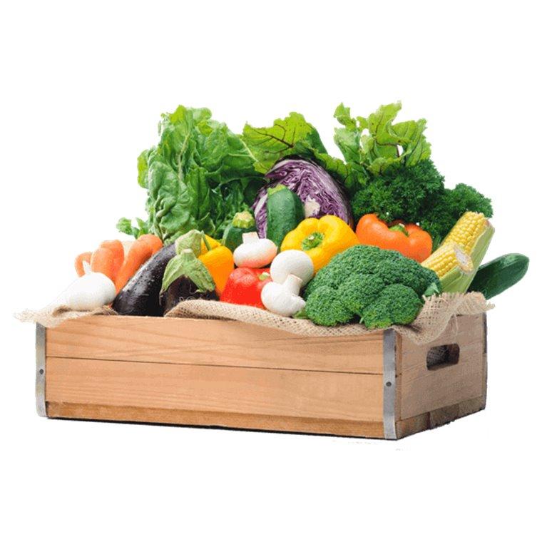 Organic vegetable box - 6 kg